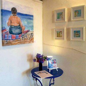 exhibition greece art beachbabe