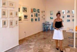 art exhibition greece gill tomlinson