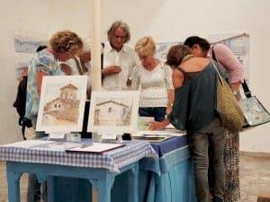 art exhibition koroni greece gilltomlinsonart
