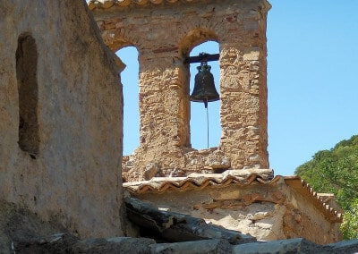 belltower monastery greece