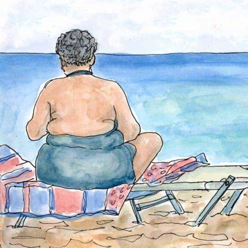 summer holidays beach babe