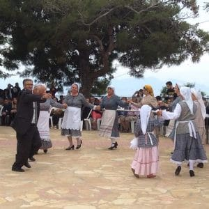 greek, dancing, vassilitsi, village