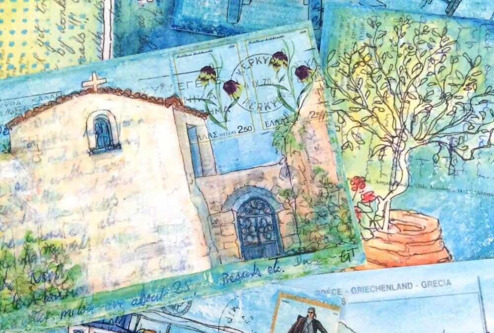New – Postcards of Postcards