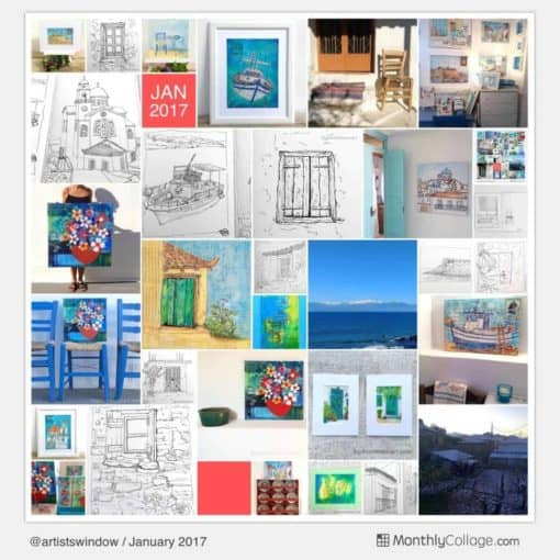 January 2017 selection of images from the studio