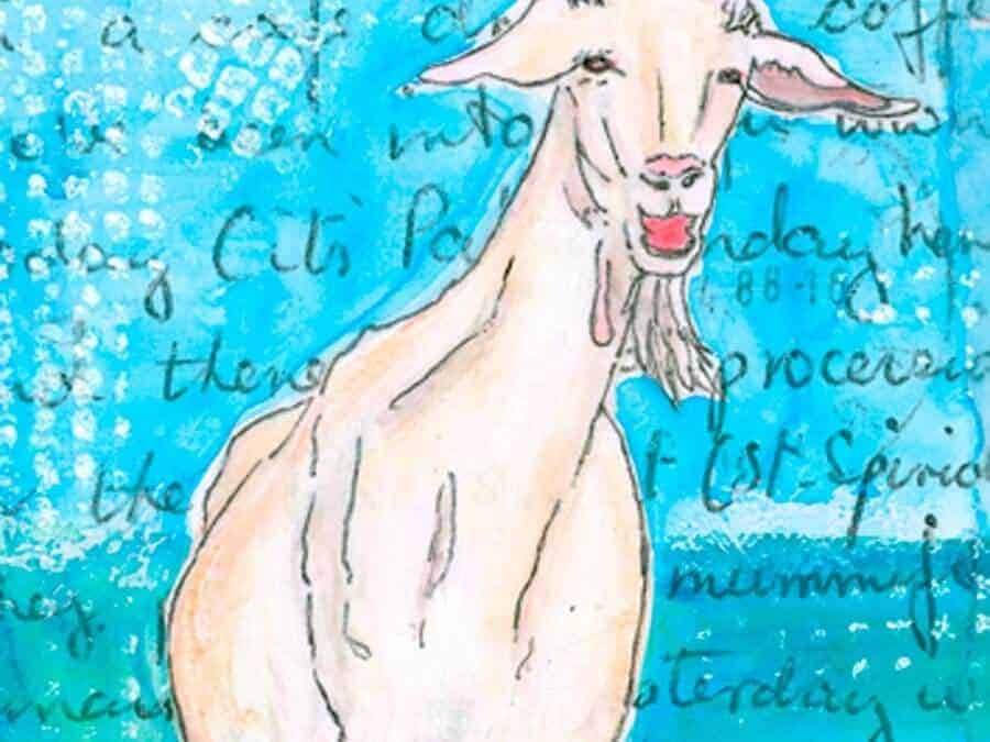Holiday Goat