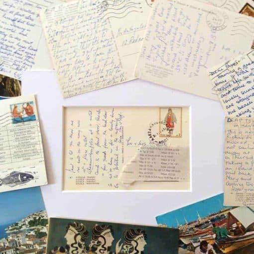 vintage postcards Greece, Greek, postcards