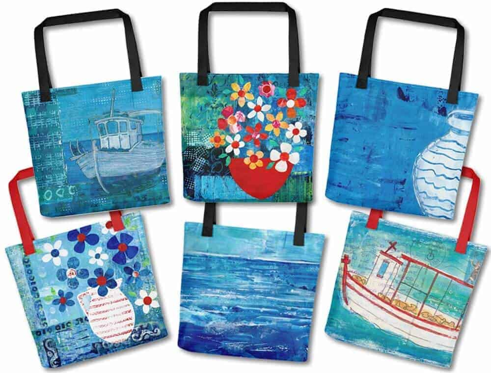 tote-bags, bags, totes, greece, gift