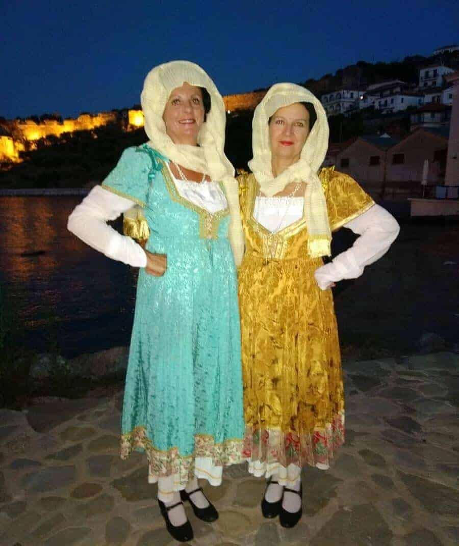 traditional greek costume aegean paros