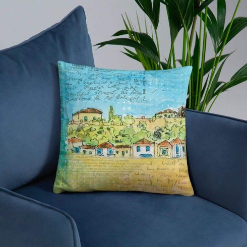 ABeautiful Scenery 18x18cushion2 18x18cushion Back Beautiful Mockup Front Lifestyle 6 Lifestyle 18x18