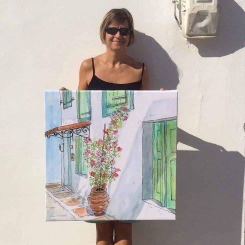 Paint 5 Canvas