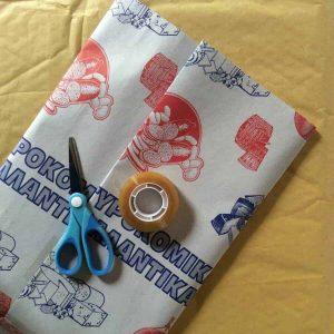 packaging greece calendar gift